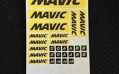 Mavic Sticker Aufkleber Set Bogen