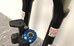 "Rock Shox Reba Race 29"" Dual Air Motion Control 100mm 1 1/8"""