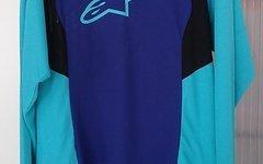 Alpinestars Drop Jersey Langarm Shirt Gr. M UVP 64,95 EUR Blau Enduro