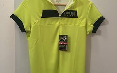 "Troy Lee Designs ""Gr. M"" WOMENS ACE JERSEY FLUORESCENT YELLOW Kurzarm Trikot"