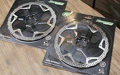 Reverse Components 200mm Discs Bremsscheiben Black *NEU*
