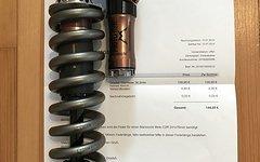 Marzocchi Moto C2R Progression Booster 241mm inkl. Titanfeder