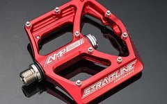 Straitline Stritline AMP All Mountain Titan Pedale - Rot