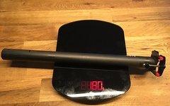 Saso POC28 Carbon/Titan Sattelstütze 30,9mm wie neu