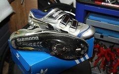 Shimano SH-R 214, SHR 214, SH- R214 Rennradschuhe, Gr 48, Carbonsohle