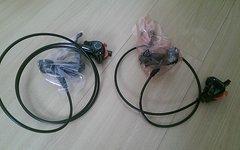 Shimano Deore BR-M595 / BL-M595 - Neu - Scheibenbremse Set - VR + HR