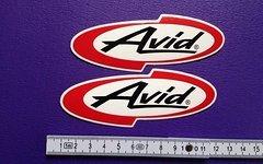 Avid Sticker Aufkleber bike mtb elixir guide