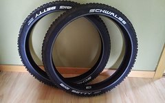 "Schwalbe 2 x Big Betty 24"" x 2.40 // 62-507 Freeride SnakeSkin Folding Triple Nano Compound"