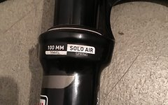 Rock Shox SID XX 100 mm 15 mm Soloair