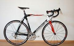 Pinarello F4:13 Carbon Rennrad - Campagnolo Veloce 20G - NEUteile - rh. 61cm