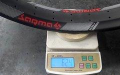 "Sarma Naran Carbon Fatbike Felge, 26"", 64 Loch, UD - NEU"