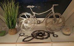 """Shimano Fahrrad """"Dekoration"""" Einzelstück"""