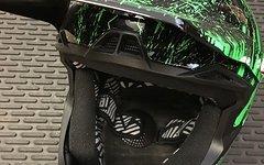 O'Neal Fury RL Mercury Fidlock DH Black/ Green M -NEU!-