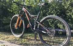"Specialized Stumpjumper FSR Comp Carbon 29"" Größe M"