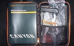 Canyon Werkzeugtasche komplett (Pumpe, Werkzeug, Carbonpaste, Sticker etc.)