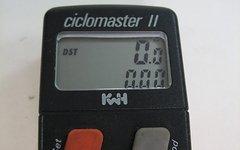 KwH Ciclomaster II 2 Fahrradcomputer Retro Rennrad MTB schwarz