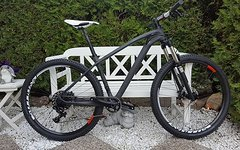 No-Name Black Raw Carbonhardtail Sram GX 1x11 27,5 Medium