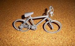 Fahrrad Skulptur aus Metall