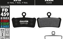 Galfer Bremsbelag Standard Avid X0 Trail, 7 Trail, 9 Trail, Guide