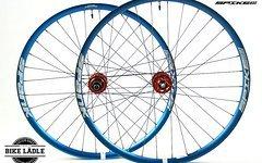 Spank Spike 33 Race 650b EVO Scaled Sizing Laufradsatz mit NOA-Bl-EVO-3 Naben