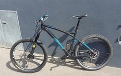 Merida OneForty 7.700 mit RS Pike RCT3 und Magura MT5
