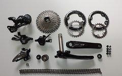 Shimano XT M8000 2 x 11 Komplettgruppe