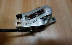 Shimano Dual-Control Hebel + Bremsen XT VR+HR
