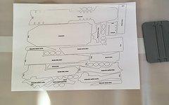 Easy-Frame Rahmen-Lackschutz-Folien-Set, SBC Stumpjumper FSR Carbon 650B