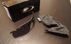 Oakley Radarlock Path Black Iridium Vented Wechselglas