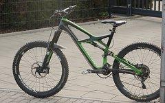 Specialized Enduro Expert Carbon Größe L 26-Zoll schwarz/grün