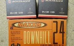 """Maxxis / Bontrager 3x 24"""" Schläuche"""