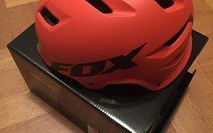 Fox Transition Helm 52-54 cm Orange matt Gr. S neu