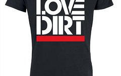 "Brothersindirt T-Shirt ""Love Dirt"" Black M"