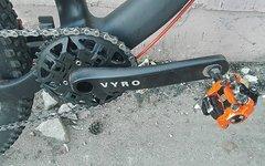 Vyro AmEn 1 schwarz - vorn Schalten ohne Umwerfer