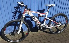 "Corratec E- Bike Fully Projekt 27,5"" 26"" Zoll ROCK SHOX Bosch Motor Coffee Racer"