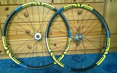 "Hope pro 2, 27.5 (650B) Carbon LB 35mm felgen, Sapim Race, ""WIE ENVE 70"""