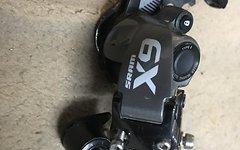 SRAM X9 Schaltwerk Typ 2.1, 10-fach, kurzer Käfig, Grau
