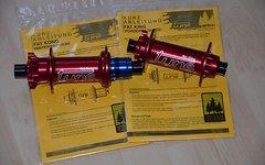 Tune FAT King / FAT Kong Nabensatz, 32 Loch, 6-Loch, 142x15mm, 177x12mm, rot, ungefahren