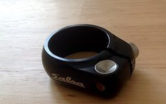 Salsa Lip Lock Sattelklemme Schwarz 30,6 mm NEU
