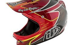 Troy Lee Designs Downhill-MTB Helm D2 Pulse Rot Neu