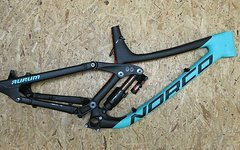 Norco Aurum Carbon C7.1 Rahmenset - NEU! - 2017 - Fox Float X2