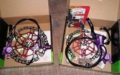Hope Tech3 X2 Purple Komplettset V+H Floating Saw 180/160 Sram Matchmaker Titankit + Zbh. *TipTop*