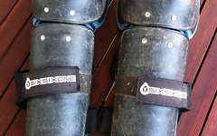 661 SixSixOne Six six One Knie- und Schienbeinschoner Protektoren Gr. S-M