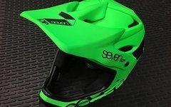Seven M1 Fullface Helm Neon Matte Lime XS -NEU!-