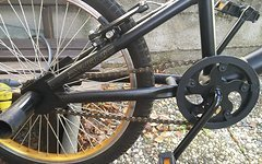 Dynamic BMX Urban Freestyle - schwarz/gold - 20 Zoll - Kinder
