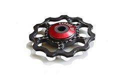 M-Bike Parts, Feathery Carbon CFK Schaltwerkrollen Carbon für CAMPAGNOLO S RECORD/ EPS/ CHORUS.