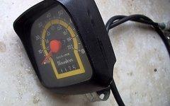 Blaustern Oldschool Retro Quatsch Tachometer