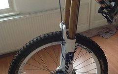 Fox 40 RC2 FIT Factory Kashima 2014, weiss 26""