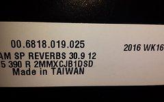 Rock Shox Reverb Stealth 30,9mm 2017 Neu