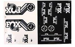 Fox Racing Shox Decals AM Heritage Aufklebersatz für Federgabel Dämpfer * WEISS / NEUTRAL*